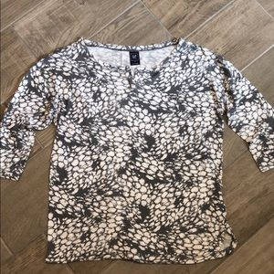 Gap Maternity boatneck tee shirt; Size M
